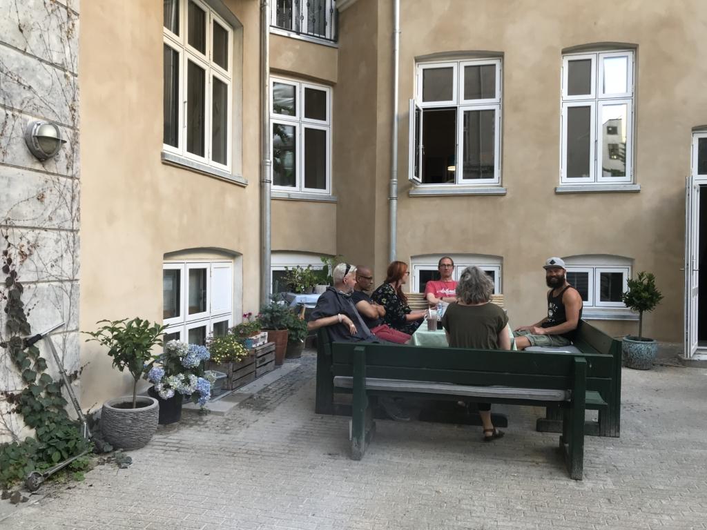 Baglandet København, billede af fællesgård